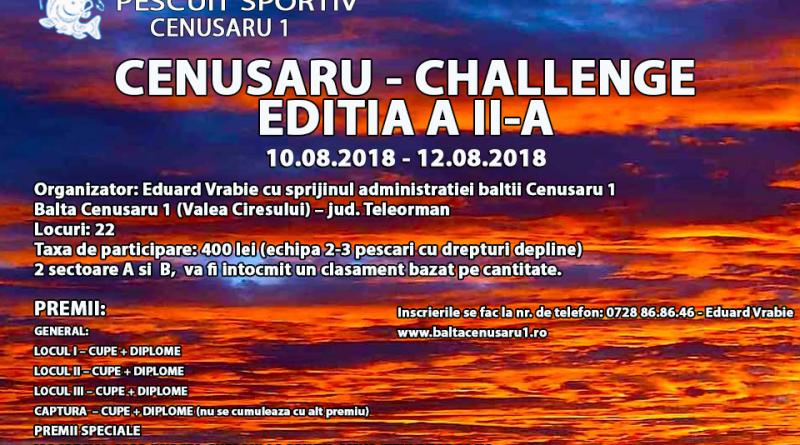 CHALLENGE editia a II-a
